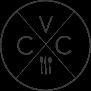 black vcc logo